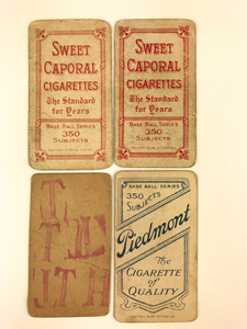 Four Early 20th Century Sporting Cards