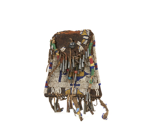 Native American Beaded Strike-a-Light Bag