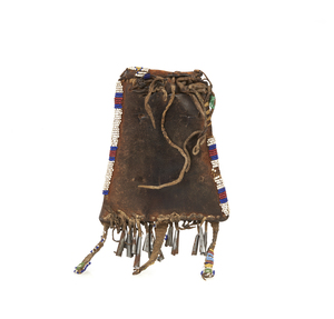 Native American Beaded Strike-a-Light Bag
