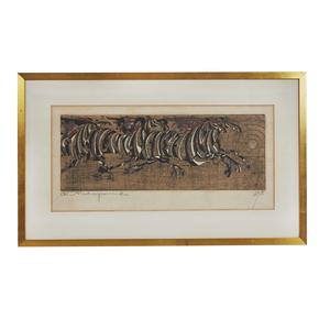 Woodblock Print, Tadashi Nakayama (b. 1927)