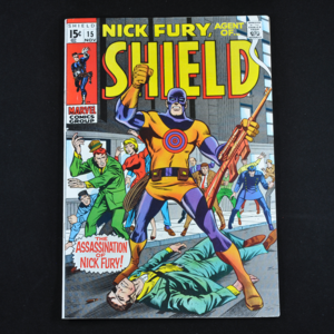 Marvel's Nick Fury, Agent of S.H.I.E.L.D. #15, 1969 (First and Only Appearance of Bull's Eye)