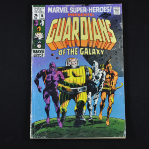 Marvel Super-Heroes Presents: Guardians of the Galaxy #18, 1969 (First Appearance of Guardians of the Galaxy, 1969 Team)
