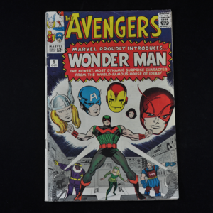 Marvel's Avengers #9, 1964 (First Appearance of Wonder Man)