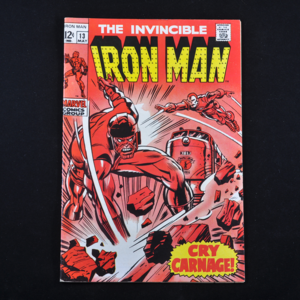 Marvel's Iron Man Comic Collection (1968-1994) - Group of Sixteen