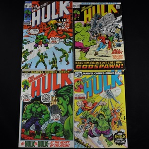 Marvel's The Incredible Hulk Comic Collection (1970-1976) - Group of Five