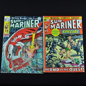 Marvel's The Sub-Mariner Comic Collection (1969 and 1972) - Group of Five