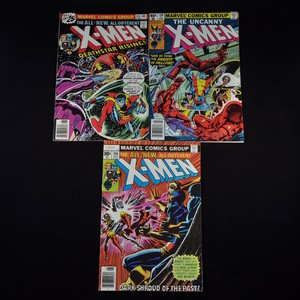 Marvel's The X-Men Comic Collection (1976-1980) -  #99, #106, #129