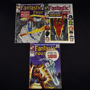 Marvel's Fantastic Four (1966-1967) - #47, #54, #55, #57, and #58