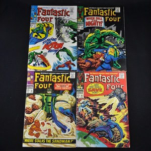 Marvel's Fantastic Four Comic Collection (1967-1968) - #61, #62, #70, #71, #76, and #80
