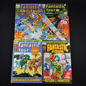 Marvel's Fantastic Four Comic Collection (1970-1979) - Group of Thirteen