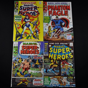 Marvel Super-Heroes Comic Collection (1966-1969) - Group of Four