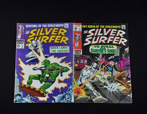 Marvel's The Silver Surfer (1968-1969) - #2 and #9