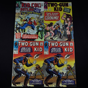 Marvel' Kid Colt Outlaw (1966) #131 and Two-Gun Kid (1964) #72 and #84