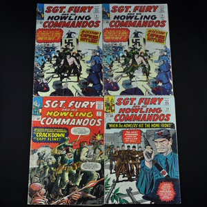 Marvel's Sgt. Fury (and His Howling Commandos) (1964-1976) - Group of Seventeen