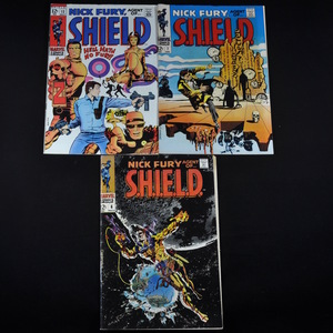 Marvel's Nick Fury, Agent of Shield (1968-1969) - #6, #7, and #12