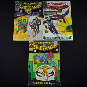 Marvel's The Amazing Spiderman (1966) - #35, #36, and #37