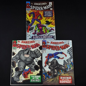 Marvel's The Amazing Spiderman (1966) - #40, #41, and #43