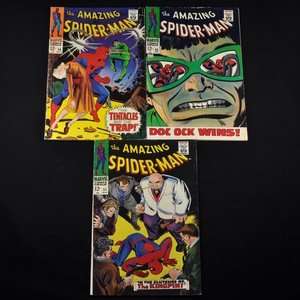 Marvel's The Amazing Spiderman (1967-1968) - #51, #54, #55, #56, and #57
