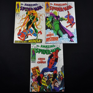 Marvel's The Amazing Spiderman (1968-1969) - #62, #66, and #68
