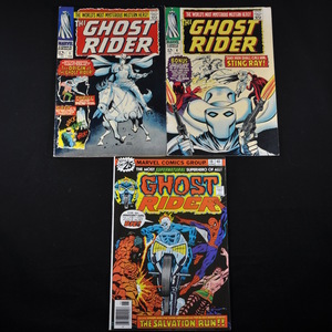 Marvel's Ghost Rider (1967 and 1976) - #1, #4, and #18