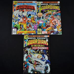Marvel Presents: Guardians of the Galaxy (1976) - #4, #5, and #6