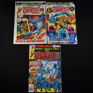 Marvel's Greatest Comics (1972-1979) - #38, #63, and #82