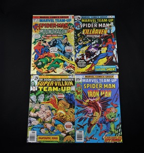 Marvel Comic Collection - Marvel Team-Up #44, #45, and #48 and Super-Villian Team-Up #6