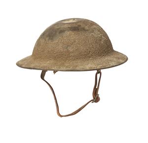 U.S. WWI Brodie Painted Helmet