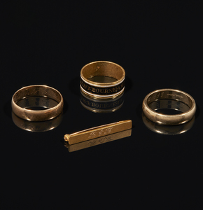 Assorted Gold Jewelry