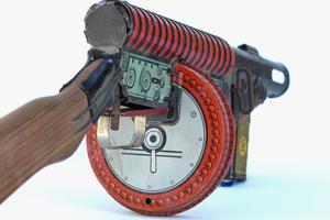 Marx G-Man Toy Gun, c. 1936