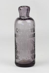 Four Antique Sacramento Bottles