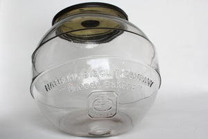 National Biscuit Company Glass Display Jar