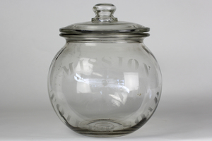 Antique Glass Display Jar
