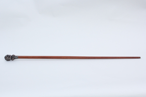 Late 19th Century William Jennings Bryan Figural Campaign Walking Stick