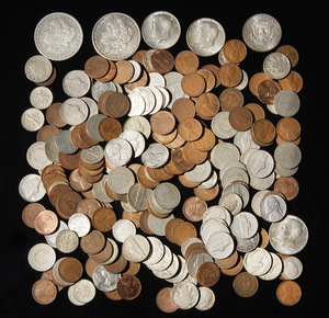 222 Assorted Pre 1964 Silver Coins