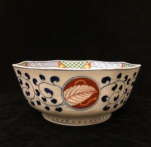 Imari Octagonal Bowl
