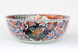 Late 18th Century Japanese Porcelain Bowl, Imari Ware