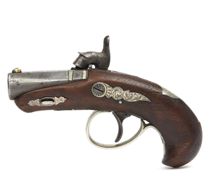 N. Curry S.F. Agent Marked Derringer