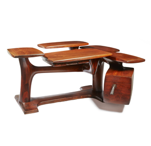 Eben W. Haskell, Lynn McLarty, and Michael Kirchner Walnut Desk for Haskell- Design Studio