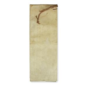 Papal Document on Vellum, circa 1773