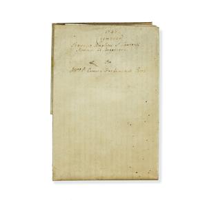 Legal Document on Vellum, dated 1747