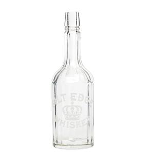 Wichman, Lutgen & Co., Gilt Edge Whiskey Bar Bottle