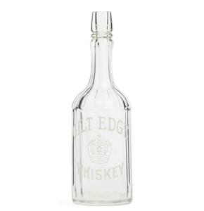 Wichman, Lutgen Co., Gilt Edge Whiskey Bar Bottle