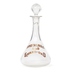 A. P. Hotaling & Co. Glass Whiskey Decanter