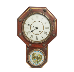 Seth Thomas Drop Octagon Wall Clock