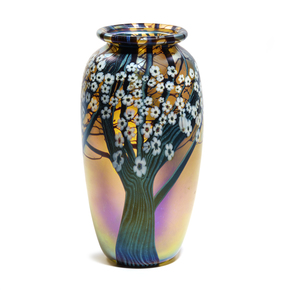 Orient and Flume (Art Glass) Vase