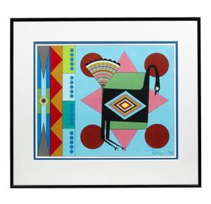 Painting, Tony Da (1940-2008)