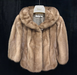 Vintage Ladies, Sleeveless, Mink Jacket