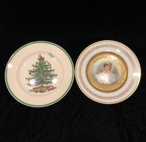 Two Porcelain Plates