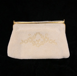 Ladies Vintage French Beaded Purse